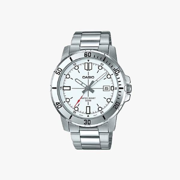 Casio Standard White Dial - Silver