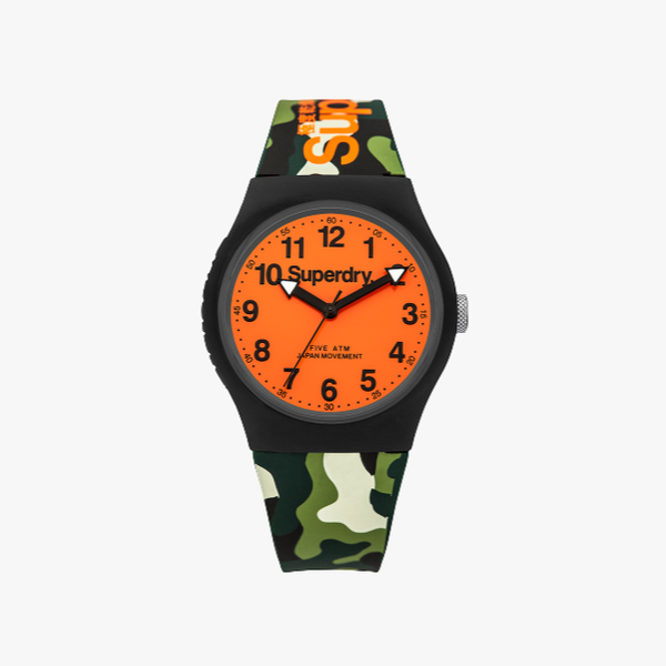 Superdry Analogue Watch with Synthetic Strap SYG164NO