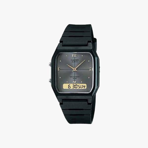 [ประกันร้าน] CASIO นาฬิกาข้อมือผู้ชาย รุ่น AW48HE-8A-S Standard Black