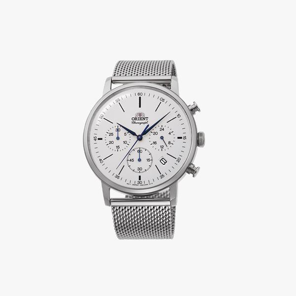 Orient Quartz Classic Watch Metal Strap