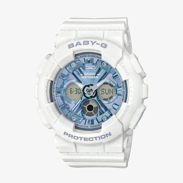 Baby-G Blue Dial - White