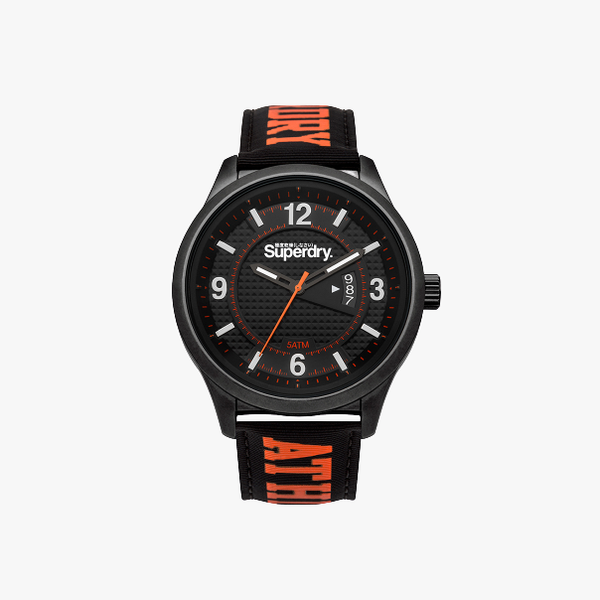 Superdry Men's Analog-Quartz Watch with Nylon Strap SYG171BO