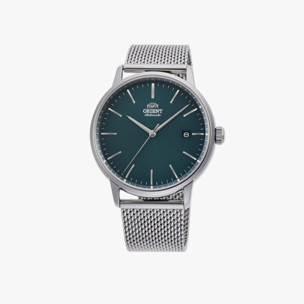Mechanical Contemporary Watch Metal Strap