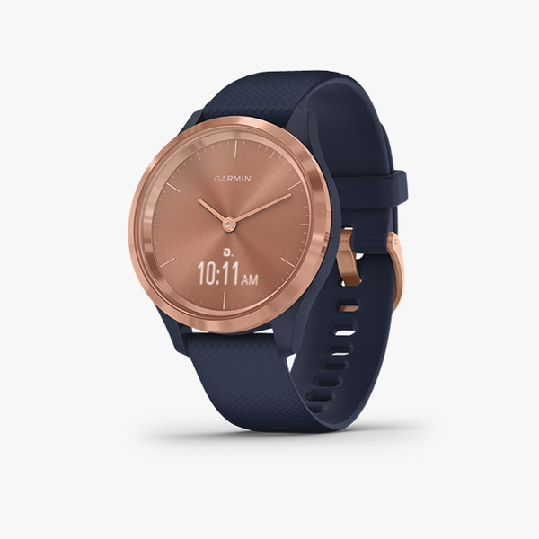 vivomove 3S - Navy with Rose Gold Hardware