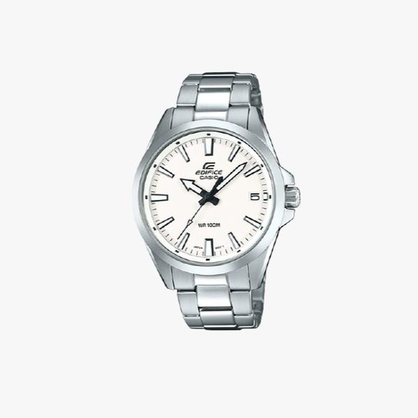 Casio Edifice White Dial - Silver