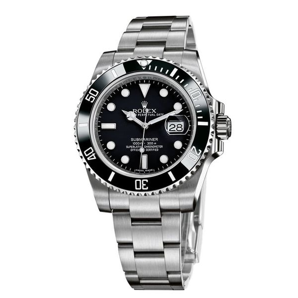 Submariner Automatic Black Dial Men's Watch