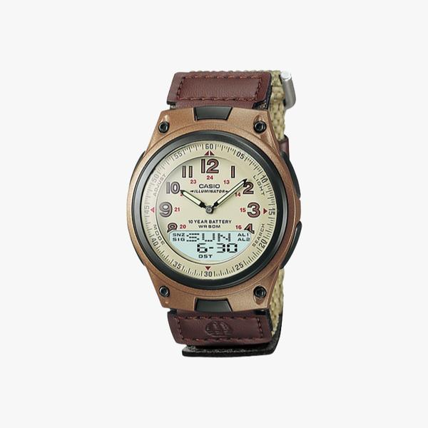[ประกันร้าน] CASIO นาฬิกาข้อมือผู้ชาย รุ่น AW80V-5B-S Standard Youth Combination