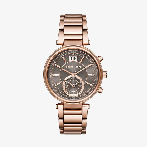 Sawyer Grey Dial - Rose GOld