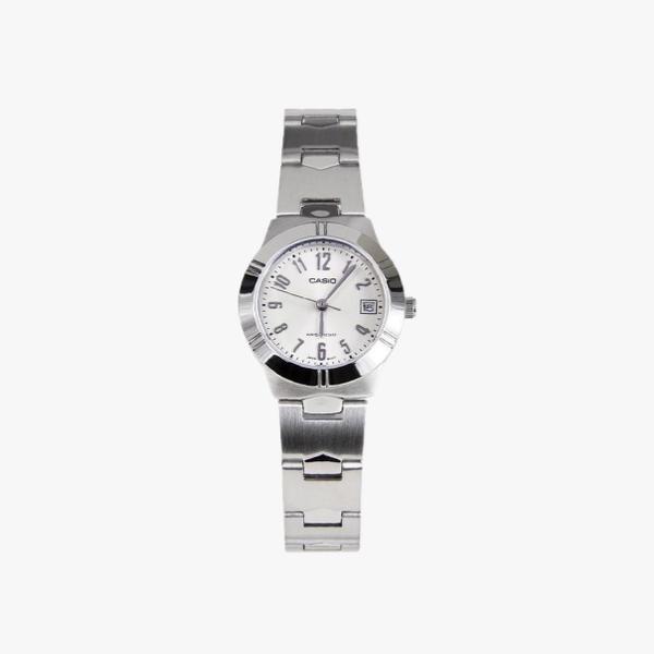 [ประกันร้าน] CASIO นาฬิกาข้อมือผู้หญิง รุ่น LTP-1241D-7A2DF-S Standard White Dial Silver