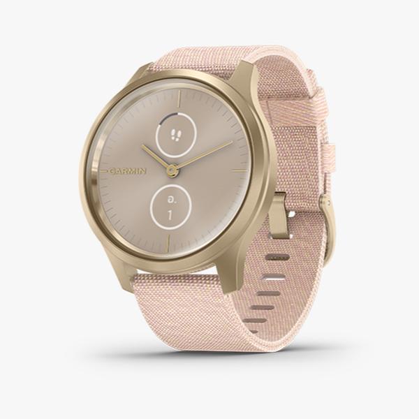 vivomove Style - Blush Pink Nylon with Lght Gold Hardware
