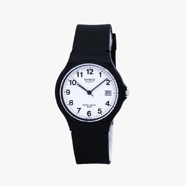 Casio Standard White Dial - Black