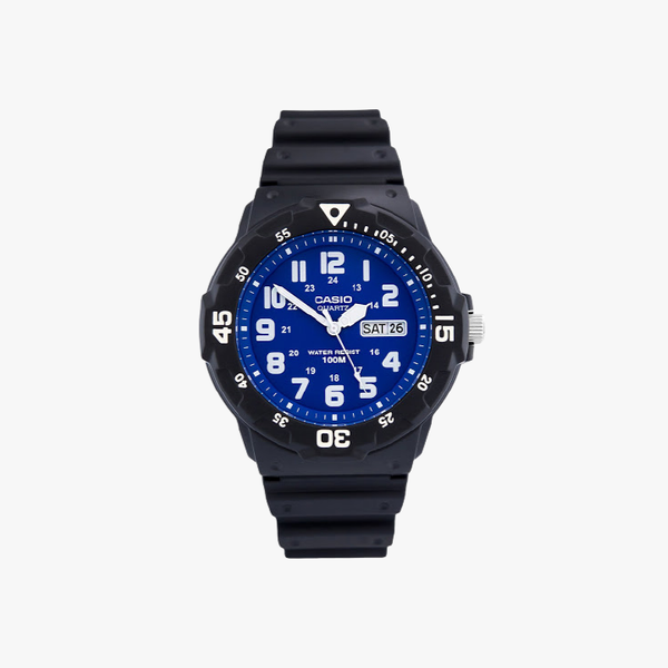 [ประกันร้าน] CASIO นาฬิกาข้อมือผู้ชาย รุ่น MRW-200H-2B2 Standard Black