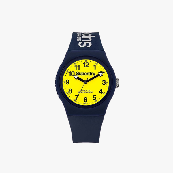 Superdry  Analogue Quartz Watch with Silicone Strap SYG164UY