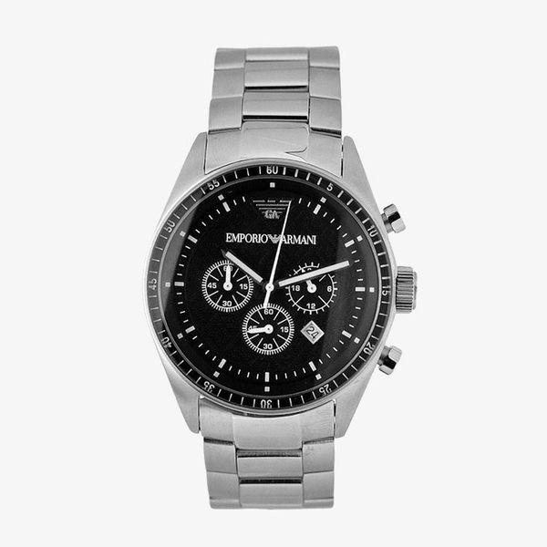 Sportivo Chronograph Black Dial - Silver