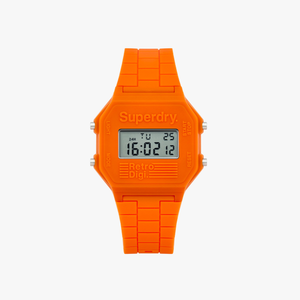 Orange Superdry Retro Digi XL
