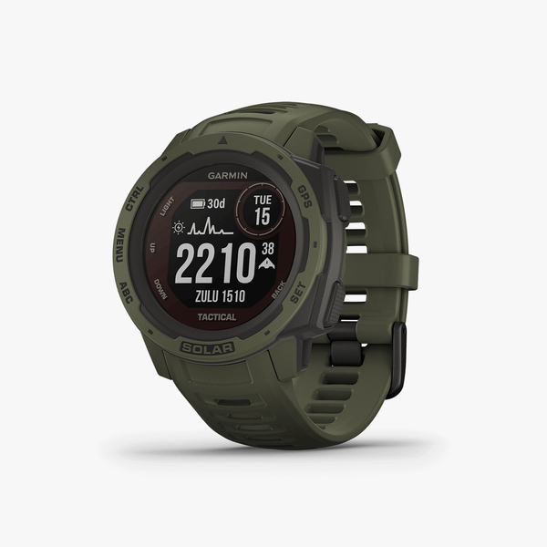 Instinct Solar, Tactical Edition, GPS Watch, Moss, SEA