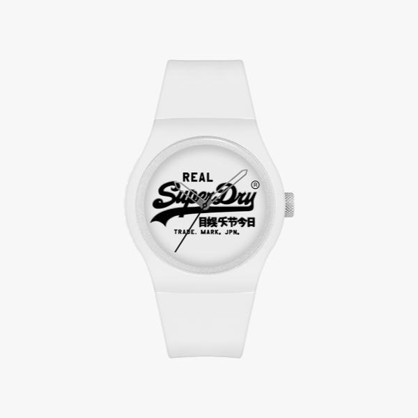White Superdry Urban Original SYG280WB watch