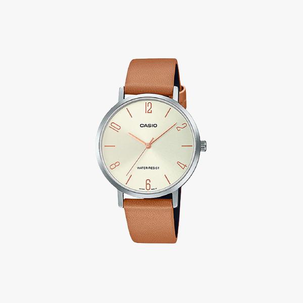 [ประกันร้าน] CASIO นาฬิกาข้อมือผู้หญิง รุ่น LTP-VT01L-5BUDF-S Standard Black