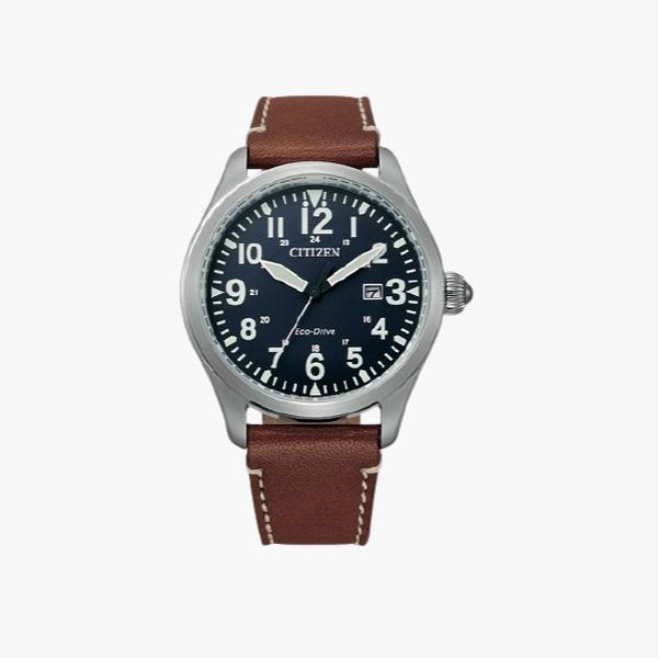 CITIZEN Eco-Drive BM6838-33L Leather Men's Watch