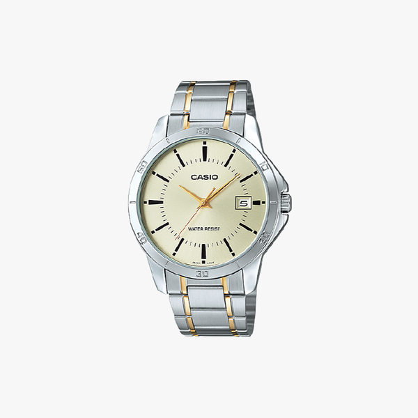 [ประกันร้าน] CASIO นาฬิกาข้อมือผู้ชาย รุ่น MTP-V004SG-9A-S Standard
