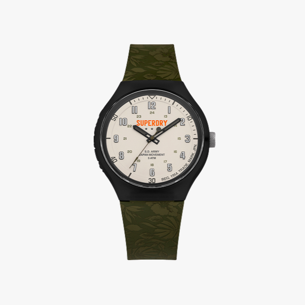 Superdry Urbanxl tropical camo with Silicone Strap SYG225N
