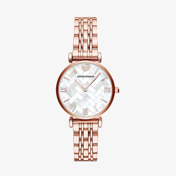 Dress White Mother of Pearl Dial - Rose Gold