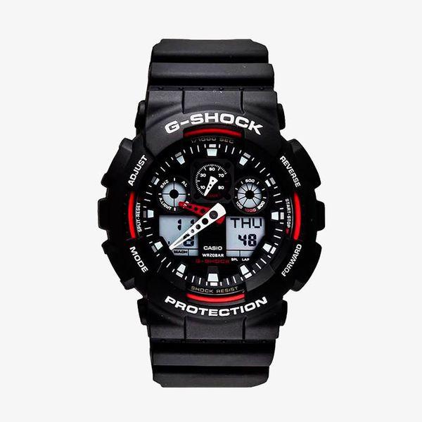 Casio G-Shock Red Dial - Black