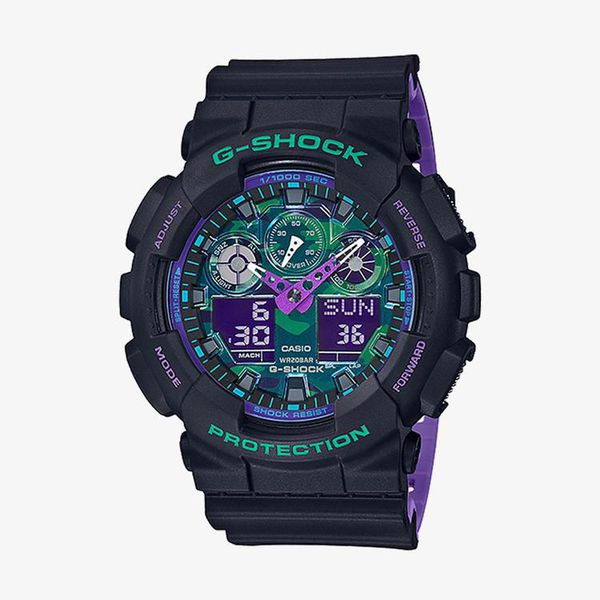Casio G-Shock Multicolor Dial - Black
