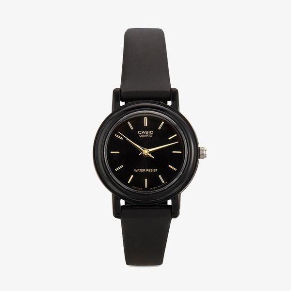 [ประกันร้าน] CASIO นาฬิกาข้อมือผู้หญิง รุ่น LQ-139EMV-1ALDF-S Standard Black Dial Black