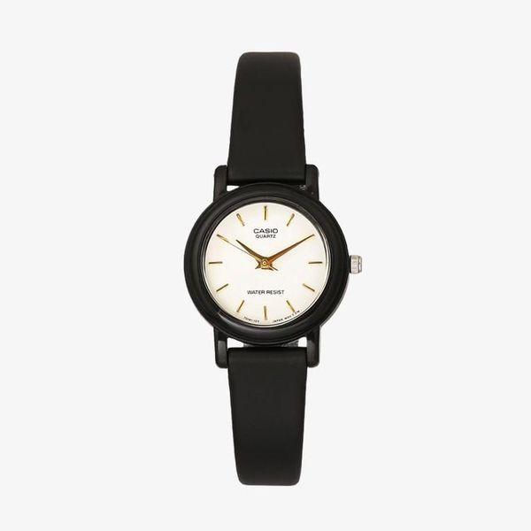 [ประกันร้าน] CASIO นาฬิกาข้อมือผู้หญิง รุ่น LQ-139EMV-7ALDF-S Standard White Dial Black
