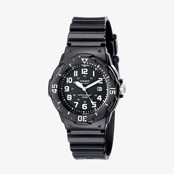[ประกันร้าน] CASIO นาฬิกาข้อมือผู้หญิง รุ่น LRW-200H-1B Casio Standard Black Dial Black