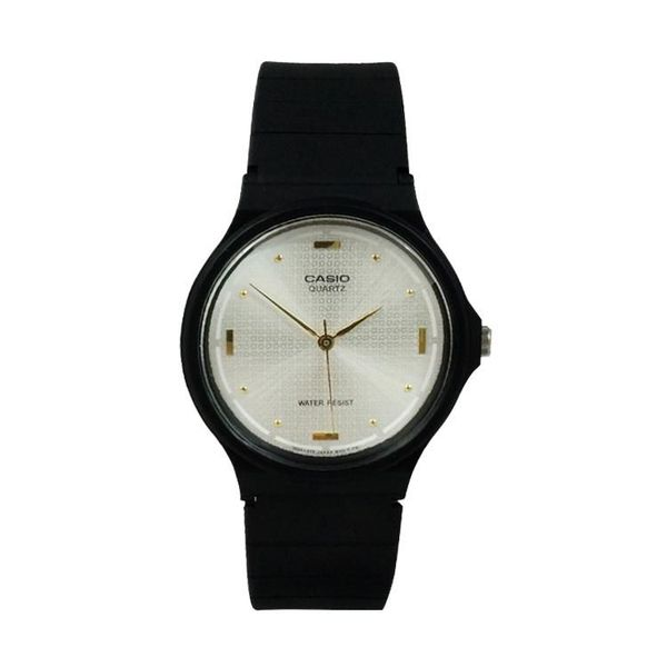 Casio Standard White Dial - Black