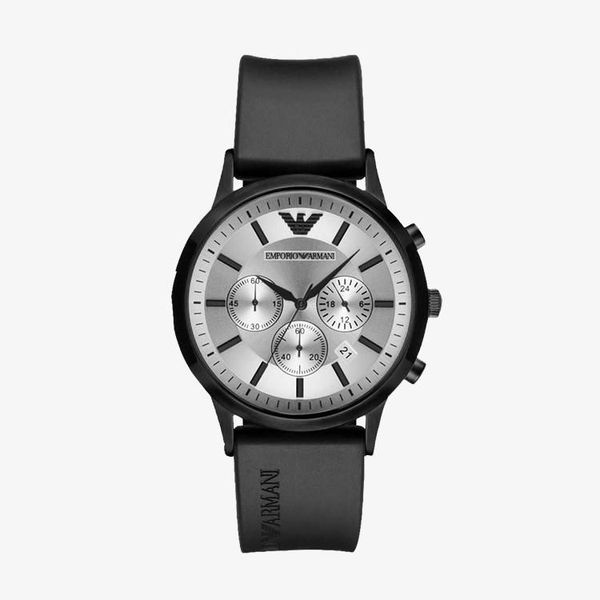 Classic Silver Dial - Black