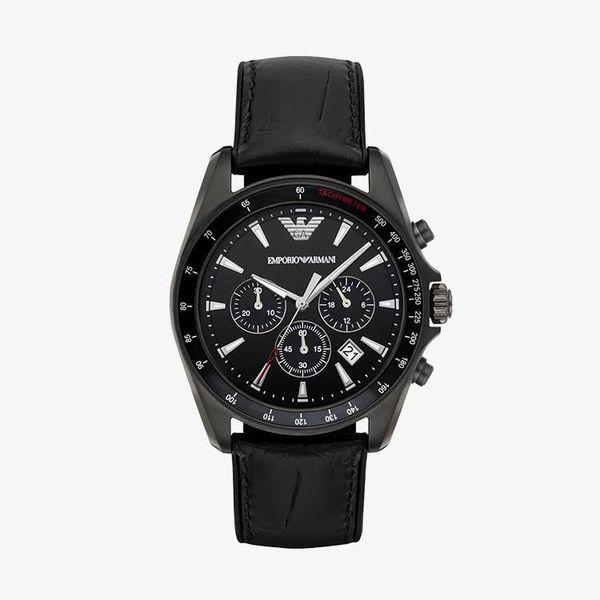 Sigma Chronograph Black Dial - Black - AR6097