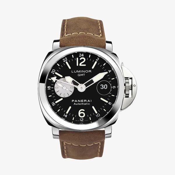 Luminor GMT Automatic Acciaio - Brown - PAM01088