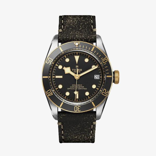 Heritage Black Bay Automatic Black Dial - Brown - M79733N-0001