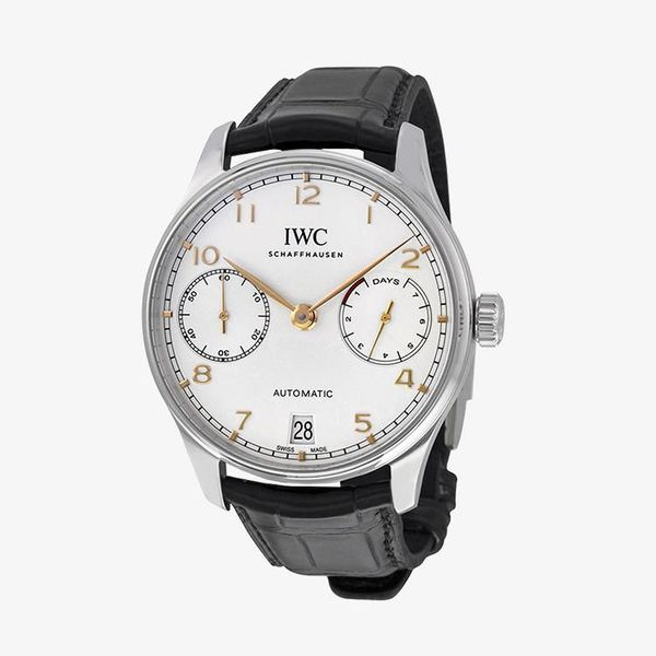 Portugieser Automatic Silver Dial - Black - IW500704