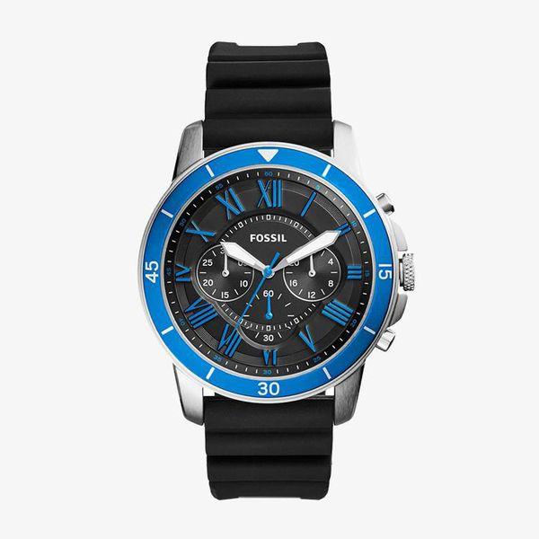Grant Sport Chronograph Black Dial - Black - FS5300