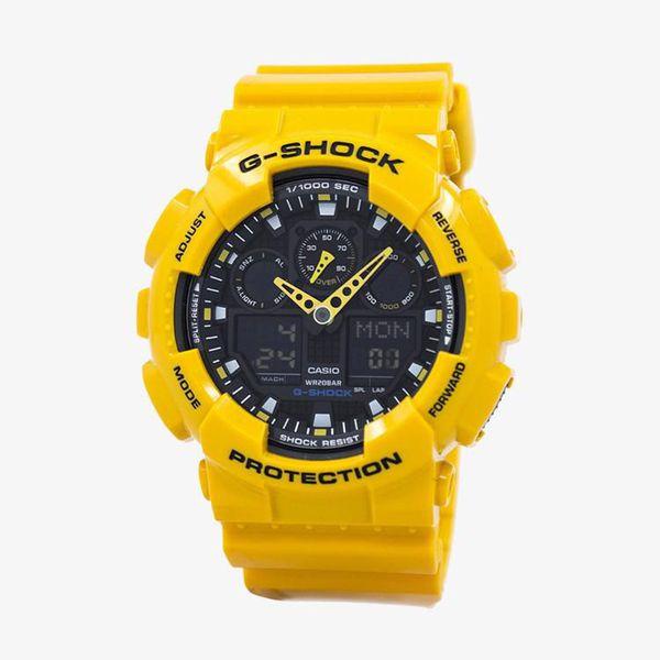 Casio G-Shock Black Dial - Yellow