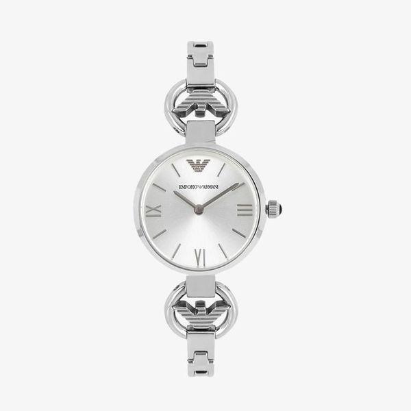Gianni T-Bar Silver Dial - Silver - AR1772