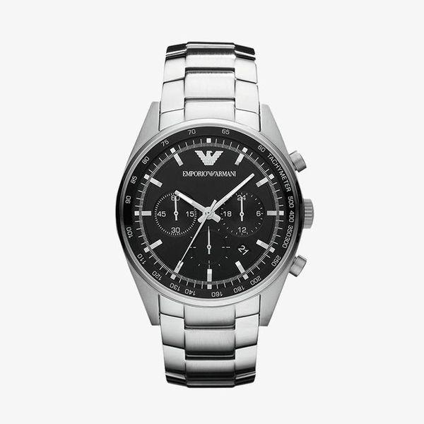 Sportivo Black Dial - Silver