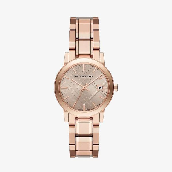 The City Rose Dial Stainless Steel - Rose Gold - BU9135