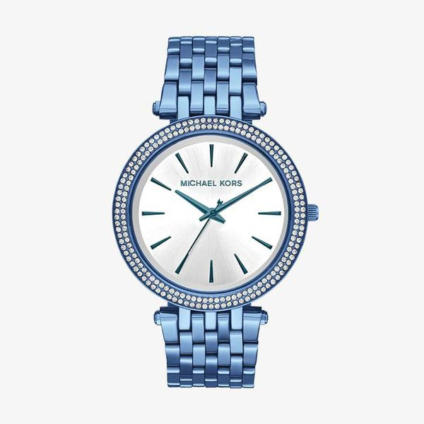 Darci Silver Dial - Blue - MK3675