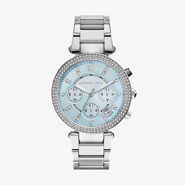 Parker Blue Dial - Silver - MK6104