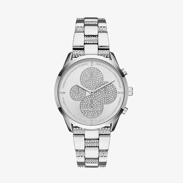 Slater Silver Dial - Silver - MK6552