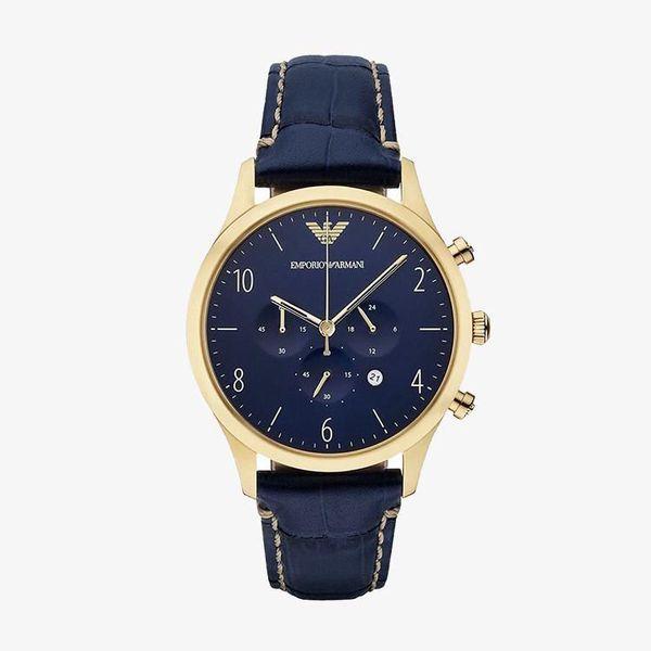 Classic Chronograph Blue Dial - Blue