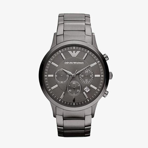 Classic Chronograph Gunmetal - Black - AR2454