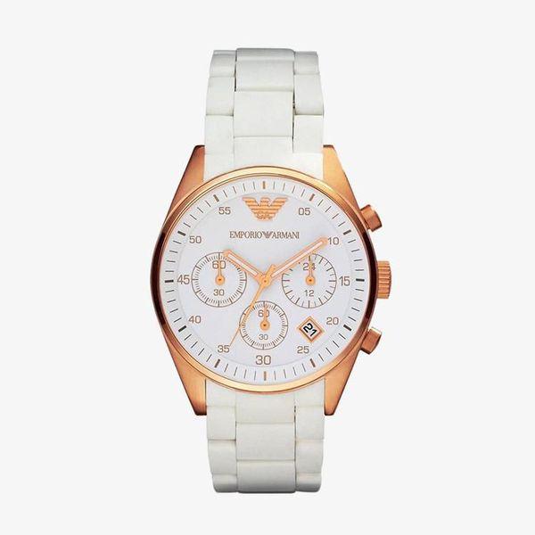 Sportivo Chronograph White Dial - White - AR5920