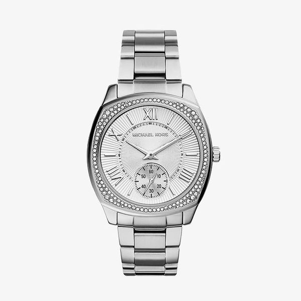 Bryn Silver Dial Stainless Steel - Silver