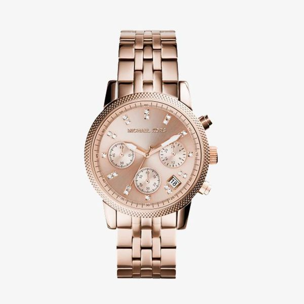 Ritz Chronograph Rose Gold Dial - Rose Gold